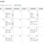 Post Calendar for Wordpress