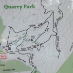 Map of Quarry Park Half Moon Bay Hiking and Walking Trails