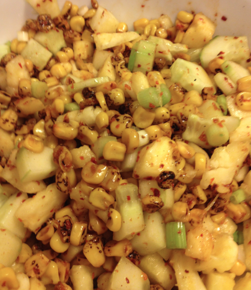 Spicy Pineapple Salsa with Pul Biber